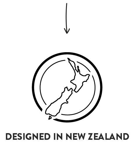 Designed in New Zealand